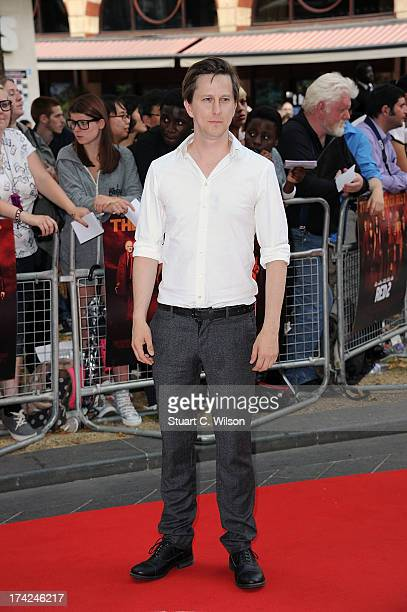 Lee Ingleby attends the European Premiere of 'Red 2' at Empire Leicester Square on July 22 2013 in London England