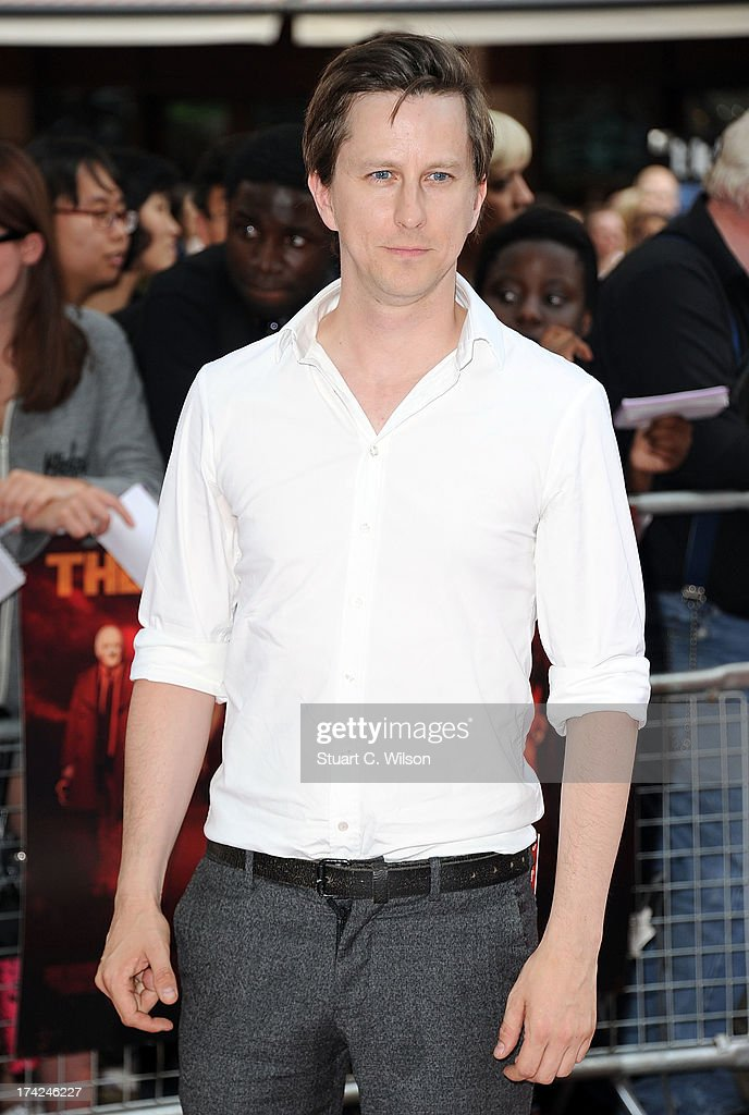 Lee Ingleby attends the European Premiere of 'Red 2' at Empire Leicester Square on July 22, 2013 in London, England.