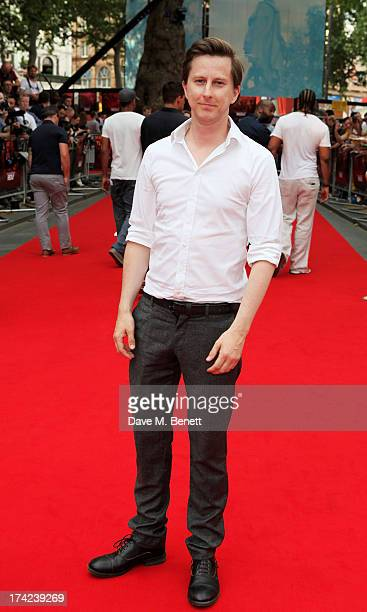 Lee Ingleby attends the European Premiere of 'Red 2' at the Empire Leicester Square on July 22 2013 in London England