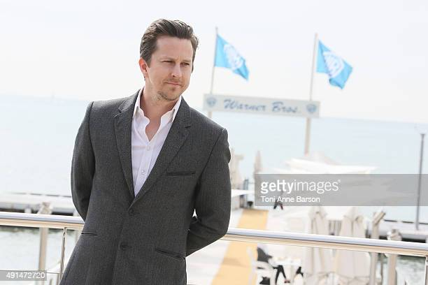 Lee Ingleby attends 'The Five' photocall as part of MIPCOM 2015 on La Croisette on October 5 2015 in Cannes France