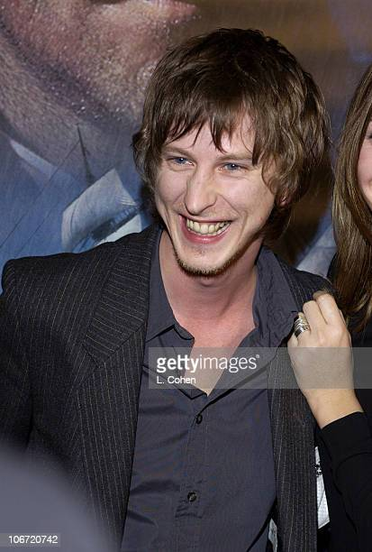 Lee Ingleby during 'Master Commander The Far Side of the World' Los Angeles Premiere Red Carpet at Samuel Goldwyn Theater in Beverly Hills California...
