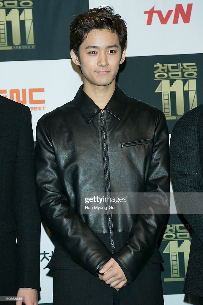 Lee Jae-Jin of South Korean boy band FTisland attends tvN Drama 'Cheongdamdong 111' press conference at CGV on November 18, 2013 in Seoul, South Korea. The drama will open on November 21, in South Korea.