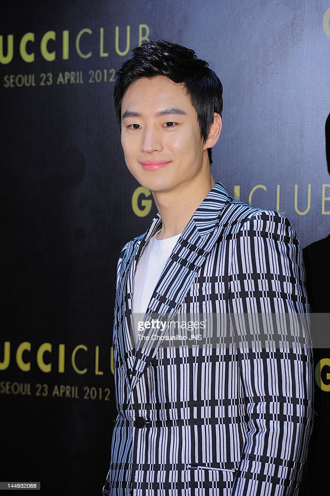 Lee Je-Hoon attends the 'Gucci Club' Party for celebrating the renewal of Gucci Seoul Flagship Store on April 23, 2012 in Seoul, South Korea.