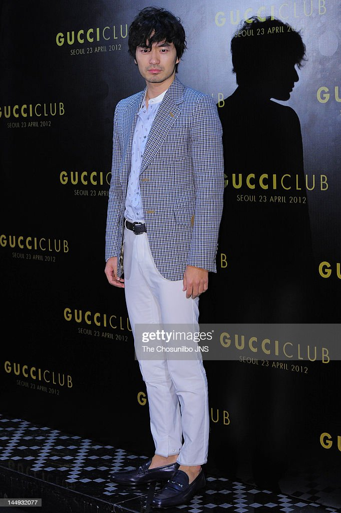 Lee Jin-Uk attends the 'Gucci Club' Party for celebrating the renewal of Gucci Seoul Flagship Store on April 23, 2012 in Seoul, South Korea.