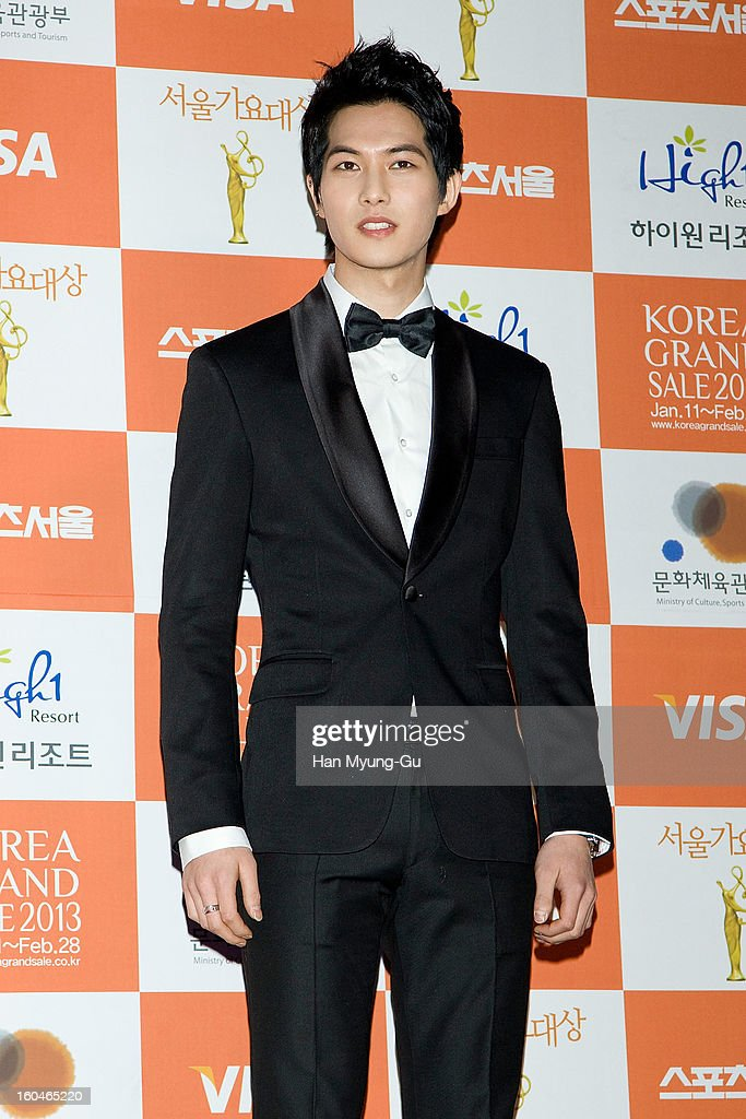 Lee Jong-Hyun of South Korean boy band CNBLUE attends the 22nd High1 Seoul Music Awards at SK Handball Arena on January 31, 2013 in Seoul, South Korea.