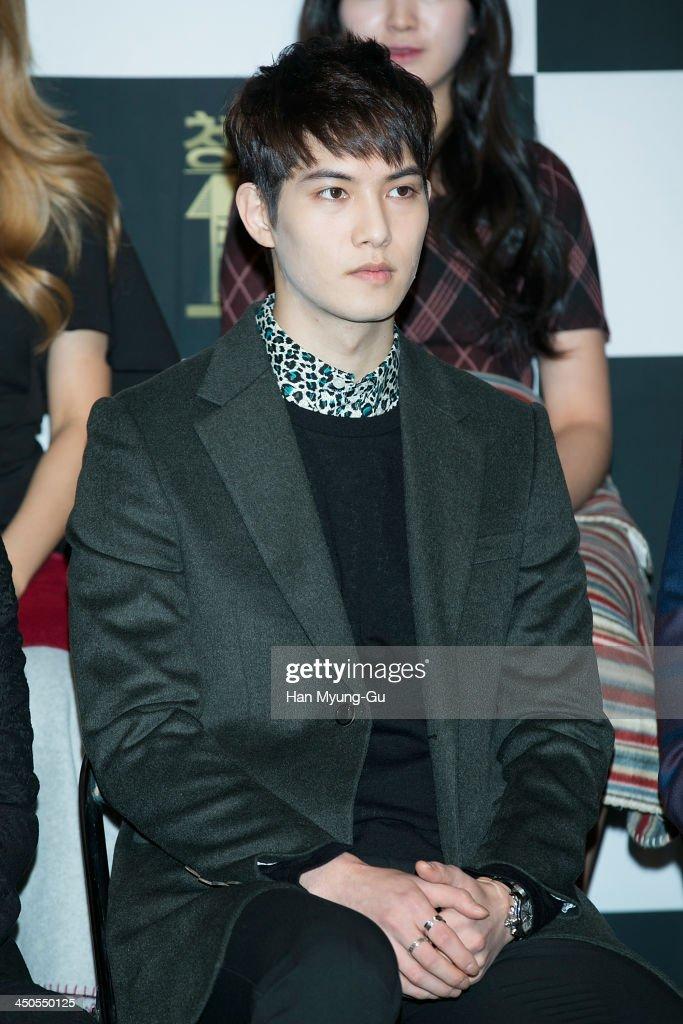Lee Jong-Hyun of South Korean boy band CNBLUE attends tvN Drama 'Cheongdamdong 111' press conference at CGV on November 18, 2013 in Seoul, South Korea. The drama will open on November 21, in South Korea.
