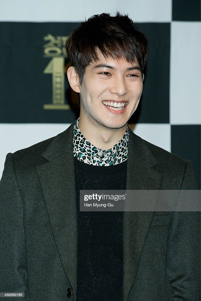 Lee Jong-Hyun of South Korean boy band CNBLUE attends tvN Drama 'Cheongdamdong 111' press conference at CGV on November 18, 2013 in Seoul, South Korea. The drama will open on November 21, in South Korea.