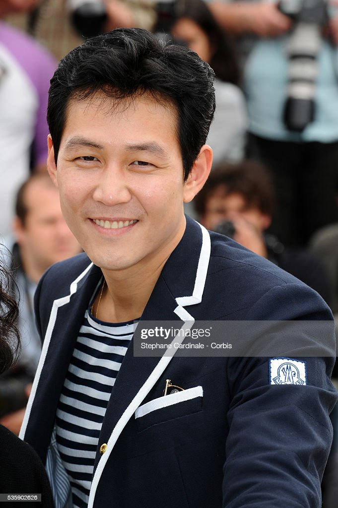 Lee Jung Jae at the photocall for 'The Housemaid' during the 63rd Cannes International Film Festival.