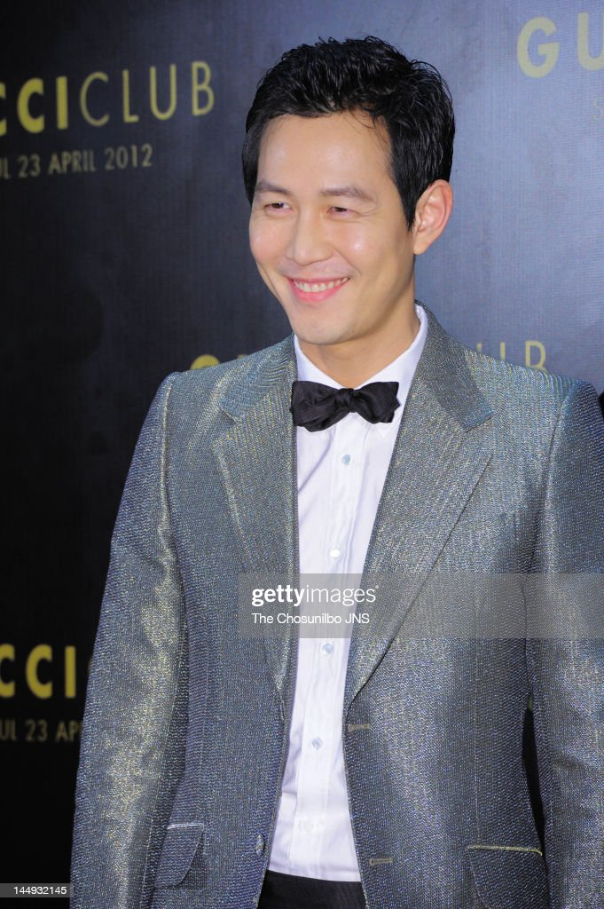 Lee Jung-Jae attends the 'Gucci Club' Party for celebrating the renewal of Gucci Seoul Flagship Store on April 23, 2012 in Seoul, South Korea.