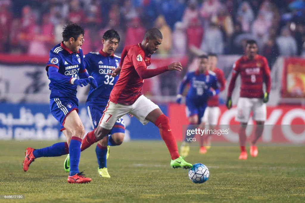 AFC Champions League - Suwon Samsung Bluewings v Guangzhou Evergrande
