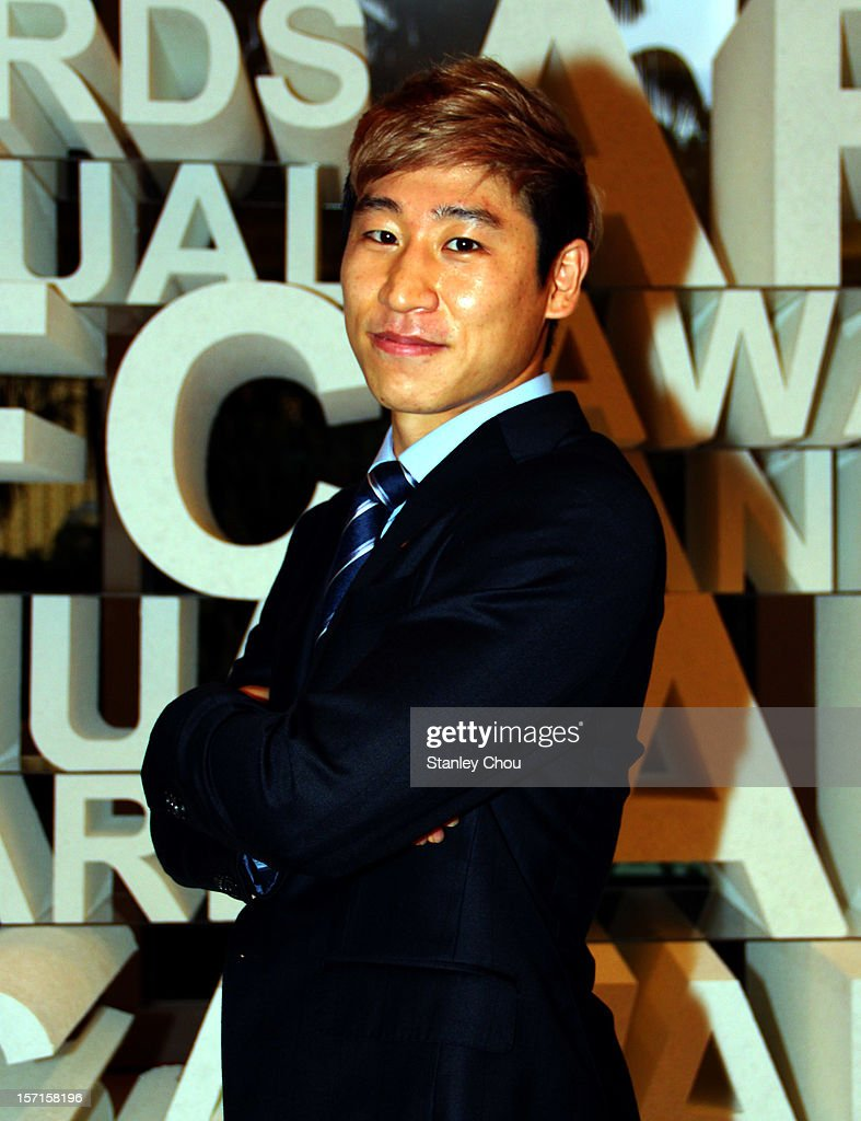 Lee Keun-ho of South Korea poses during The 2012 AFC Annual Awards at the Mandarin Oriental Hotel on November 29, 2012 in Kuala Lumpur, Malaysia.