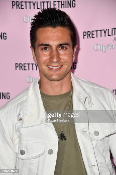 Lee Kholafai attends PrettyLittleThing X Olivia Culpo Launch at Liaison Lounge on August 17 2017 in Los Angeles California