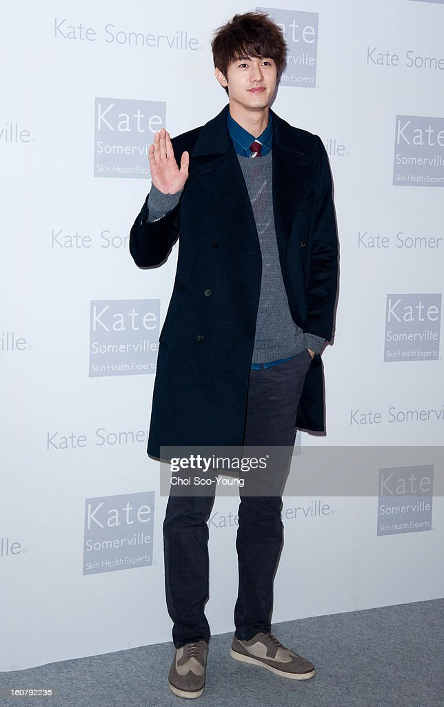 Lee Ki-Woo attends the 'Kate Somerville' Launch Event at Park Hyatt Seoul on February 5, 2013 in Seoul, South Korea.