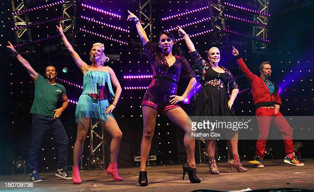 Lee LatchfordEvans Faye Tozer Lisa ScottLee Claire Richards and Ian 'H' Watkins of Steps perform at Manchester Pride 2012 on August 24 2012 in...