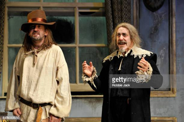 Lee Mack as Maitre Jacques and Griff Rhys Jones as Harpagon in Sean Foley and Phil Porter's adaptation of Molliere's The Miser directed by Sean Foley...