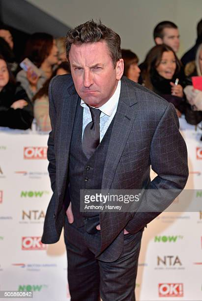 Lee Mack attends the 21st National Television Awards at The O2 Arena on January 20 2016 in London England