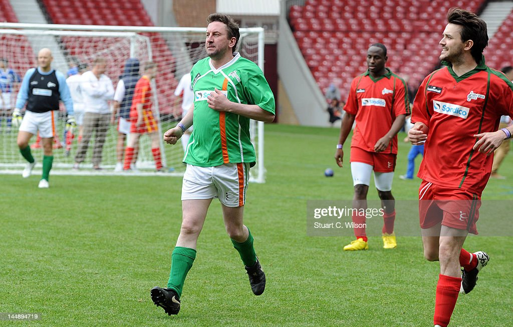 Lee Mack attends the Celebrity Soccer Six 2012 Tournament at Upton Park on May 20, 2012 in London, England.