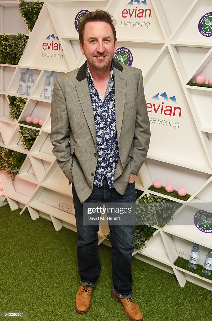 <a gi-track='captionPersonalityLinkClicked' href=/galleries/search?phrase=Lee+Mack&family=editorial&specificpeople=701706 ng-click='$event.stopPropagation()'>Lee Mack</a> attends the evian Live Young suite during Wimbledon 2016 at the All England Tennis and Croquet Club on June 27, 2016 in London, England.