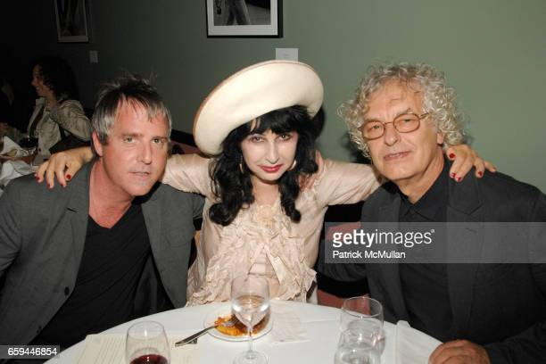 Lee Mack Colette and Anton Perich attend RON GALELLA Book Party for 'VIVA L'ITALIA' Hosted by PATRICK MCMULLAN at Pasta Bar at Ancora on September 22...