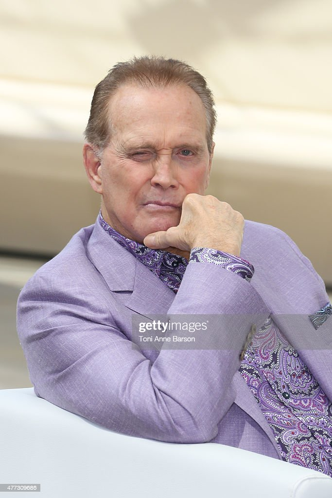 Lee Majors from the TV series 'The Six Million Dollar Man' attends the 55th Monte Carlo TV Festival on June 16, 2015 in Monte-Carlo, Monaco.