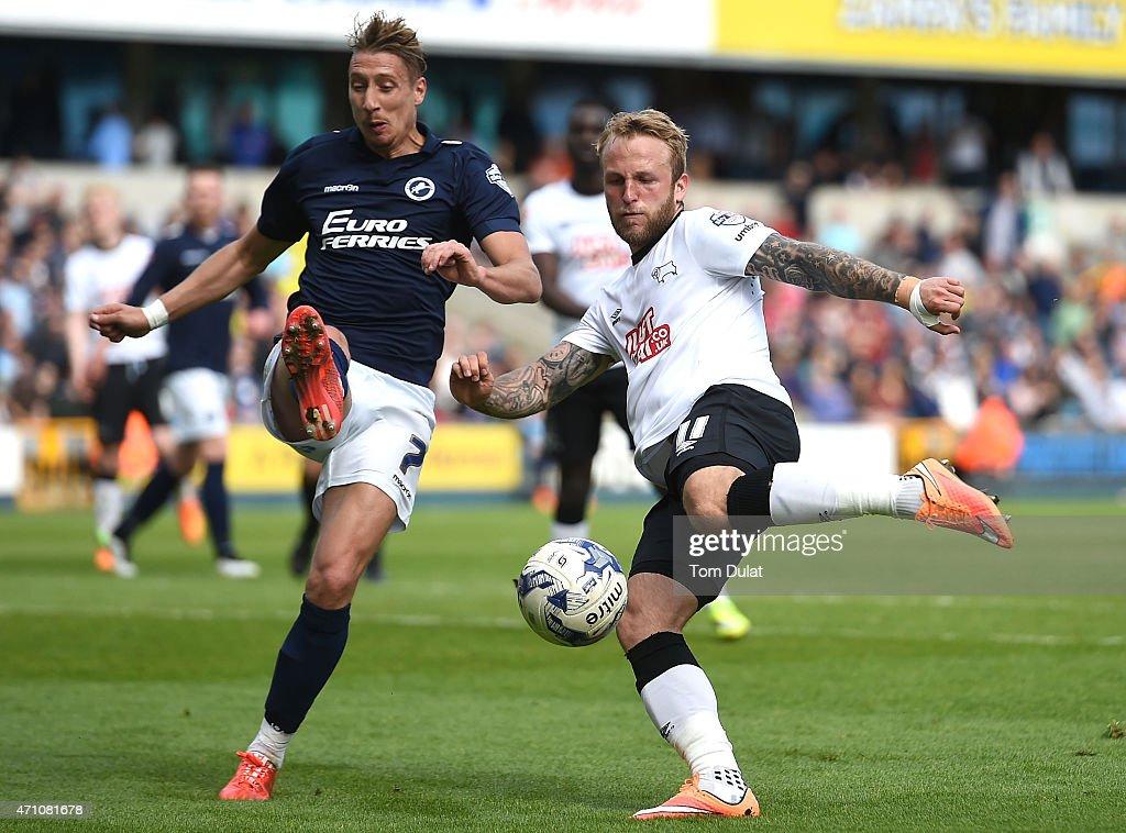 Millwall v Derby County - Sky Bet Championship