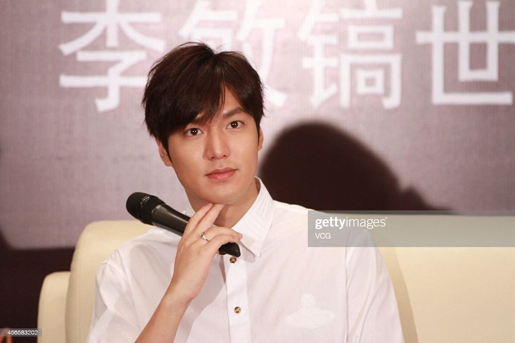 Lee Min-Ho Attends 2014 Global Tour Press Conference