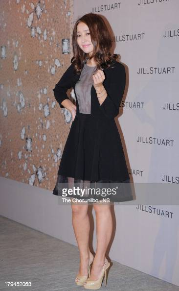 Lee MinJung attends the JILLSTUART 2013 A/W Presentation at LG Fashion Raum on September 3 2013 in Seoul South Korea