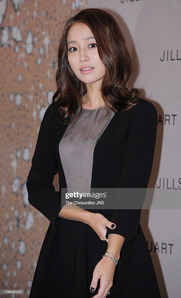 Lee MinJung attends the JILLSTUART 2013 A/W Presentation at LG Fashion Raum on September 3 2013 in Seoul South Korea