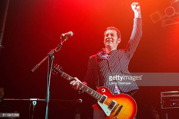Lee Murphy of Snuff performs at Electric Ballroom on February 19 2016 in London England