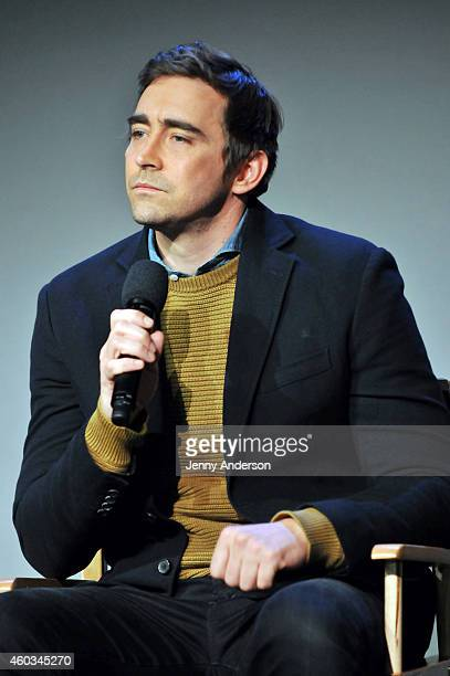 Lee Pace attends Apple Store Soho Presents Meet The Actors 'The Hobbit The Battle Of The Five Armies' at Apple Store Soho on December 11 2014 in New...