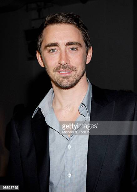 Lee Pace attends the Calvin Klein Menswear Fall 2010 fashion show during MercedesBenz Fashion Week on February 14 2010 in New York City