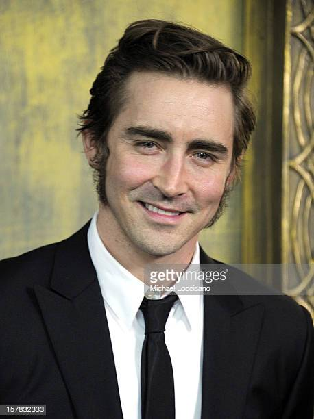 Lee Pace attends 'The Hobbit An Unexpected Journey' New York Premiere Benefiting AFI Red Carpet And Introduction at Ziegfeld Theater on December 6...