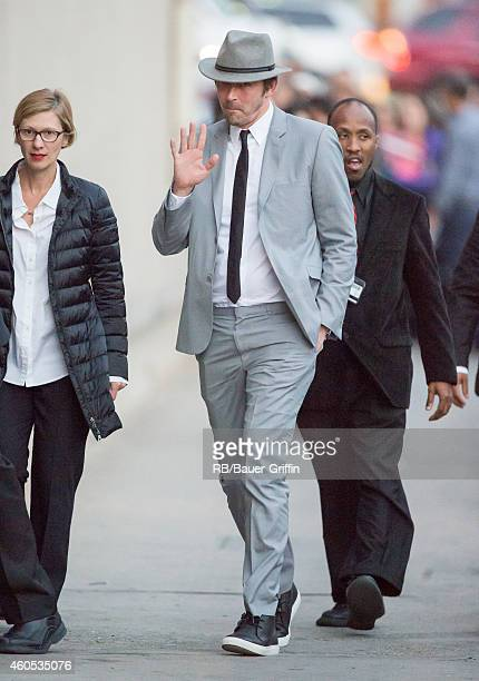 Lee Pace is seen at 'Jimmy Kimmel Live' on December 15 2014 in Los Angeles California