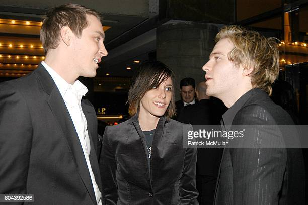 Lee Pace Katherine Moennig and Van Hansis attend 17th Annual GLAAD Media Awards at Marriot Marquis on March 27 2006 in New York City