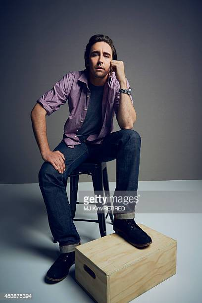 Lee Pace poses for a portrait at the Getty Images Portrait Studio powered by Samsung Galaxy at ComicCon International 2014 on July 24 2014 in San...