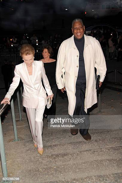 Lee Radziwill and Andre Leon Talley attend VANITY FAIR Tribeca Film Festival Party hosted by GRAYDON CARTER ROBERT DE NIRO and RONALD PERELMAN at The...