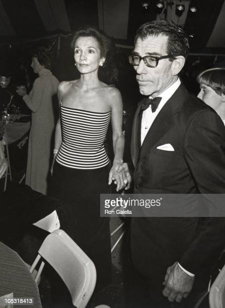 Lee Radziwill and guest during Beverly Sills Farewell Performance at Lincoln Center in New York City New York United States