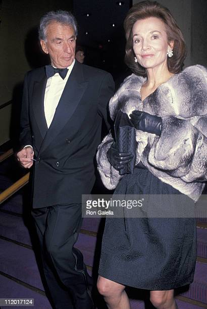 Lee Radziwill and Herb Ross during 'France Dance' Celebrating The Bicentennial of The French Revolution at Alice Tully Hall Lincoln Center in New...