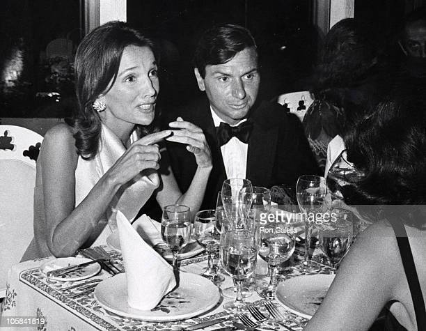 Lee Radziwill and Peter Tuffe during Party For The New York Parks Department at Tavern on the Green in New York City New York United States