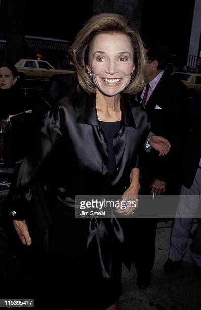 Lee Radziwill during 'Afraid of The Dark' New York City Premiere at Cinema 3rd Avenue in New York City New York United States
