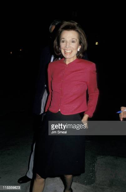 Lee Radziwill during Lee Radziwill At Spago's Restaurant at Spago's in Los Angeles California United States