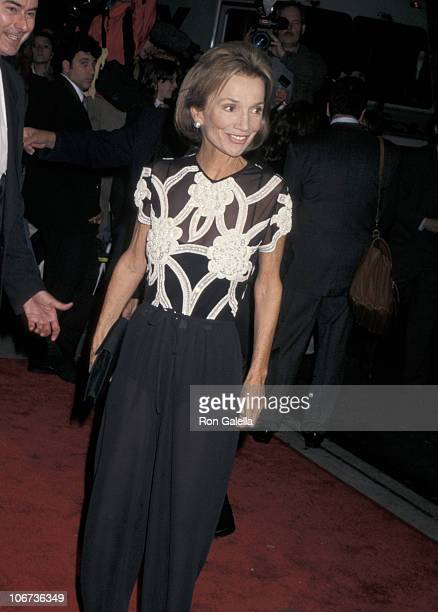 Lee Radziwill during New York City Premiere of ' First Wives Club' at Paris Theater in New York City New York United States