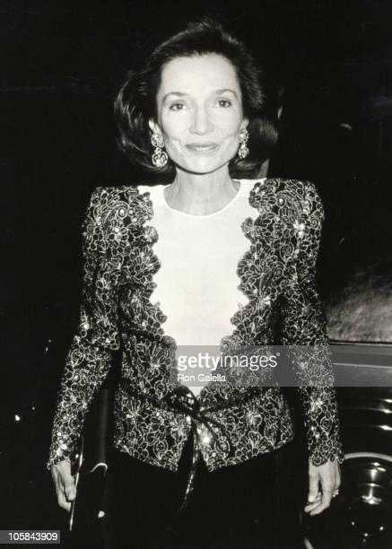 Lee Radziwill during Opening of 'Vienna Art at the Turn of the Century' Exhibit at Museum of Modern Art in New York City New York United States