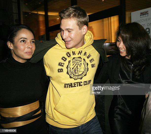 Lee Ryan and guests during Lee Ryan Sighting at Nobu in London January 23 2006 at Nobu in London Great Britain