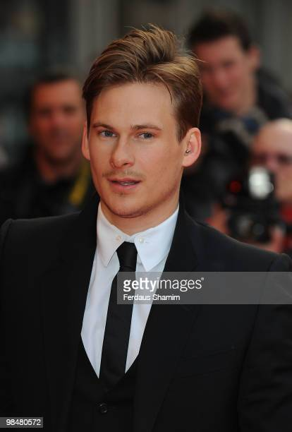 Lee Ryan attends the Premiere of 'The Heavy' at Odeon West End on April 15 2010 in London England