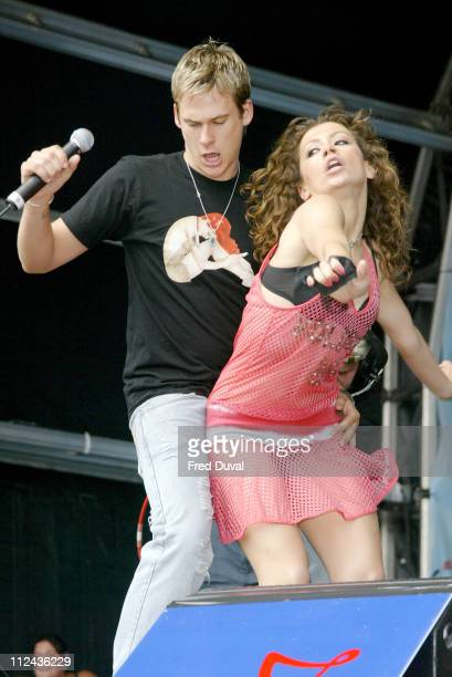 Lee Ryan of Blue during Southern FM's 'Party in the Park' Sponsored By O2 Music at Preston Park in Brighton United Kingdom