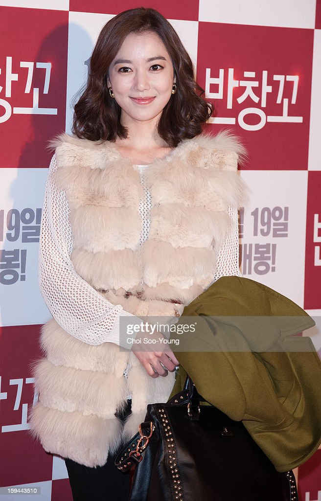 Lee So-Yeon attends the 'Love 911' VIP Press Screening at Grand Peace Palace on December 11, 2012 in Seoul, South Korea.