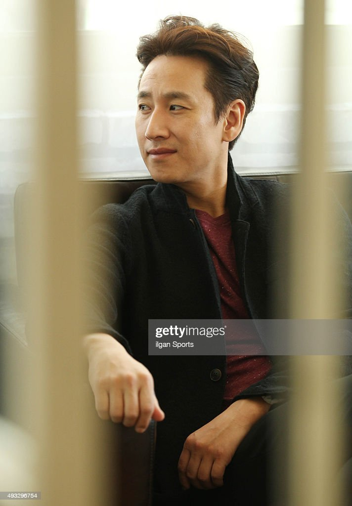 Lee Sun-kyun poses for photographs on October 5, 2015 in Seoul, South Korea.
