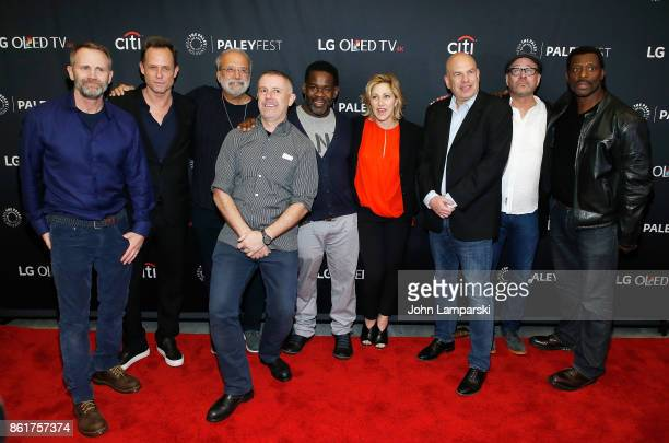 Lee Tergesen Dean Winters Tom Fontana Craig muMs Grant also known as muMs the Schemer Edie Falco David Simon Terry Kinney and Eamonn Walker attend...