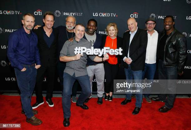 Lee Tergesen Dean Winters Tom Fontana Craig muMs Grant also known as muMs the Schemer Edie Falco David Simon Terry Kinney and Eamonn Walker attends...